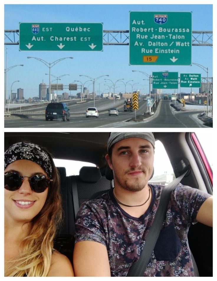 route québec