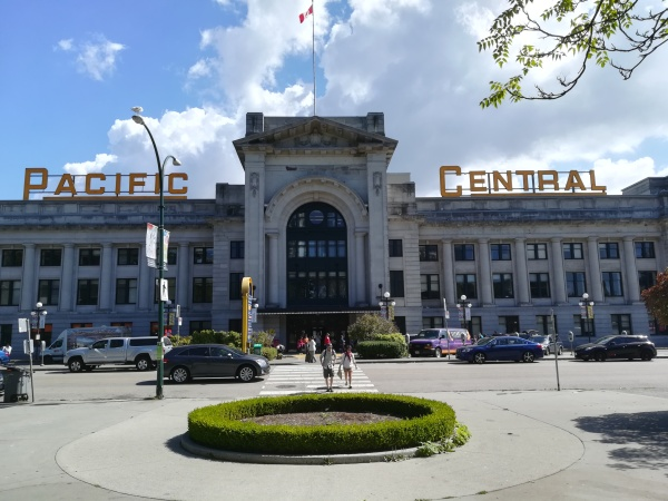 pacific central vancouver